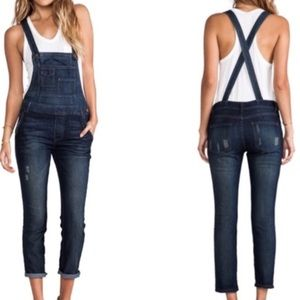 Free People washed overalls